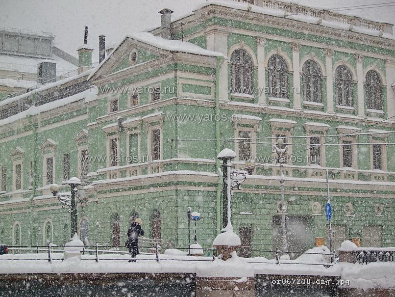 мариинский театр зимой фото